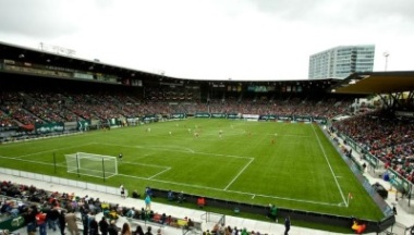PORTLAND, OR - APRIL 21:  An overview of JELD-WEN Field on April 21, 2013.  (Craig Mitchelldyer/Portland Thorns FC)
